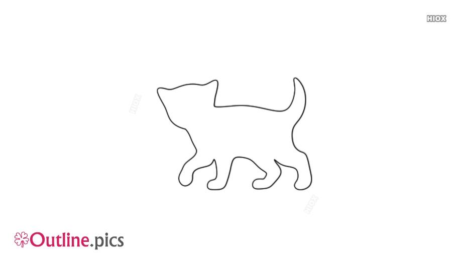Animal Outline Kitten
