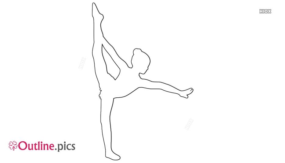 Ballerina Outline Images