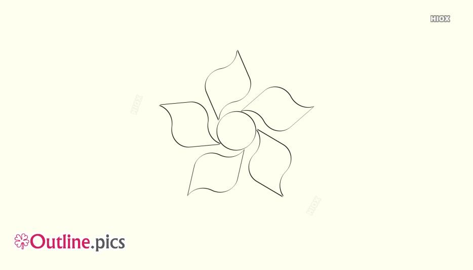 Basic Flower Outline