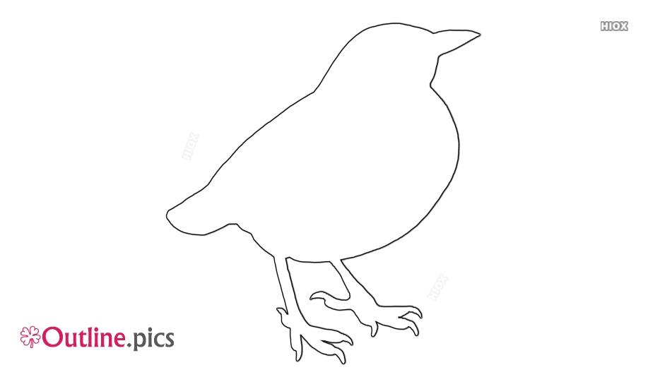 Bird Outline Easy
