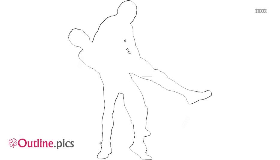 Black Youth Wrestling Outline Image