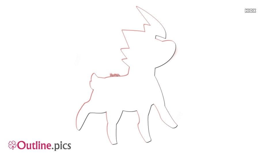 Blitzle Outline Sketch