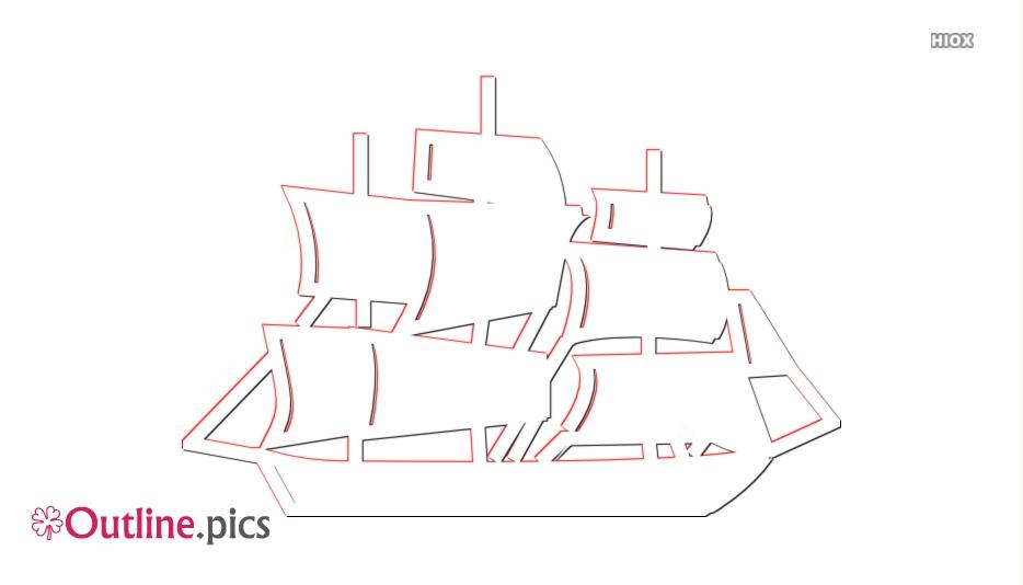 Boat Outline Images, Pics, Vectors