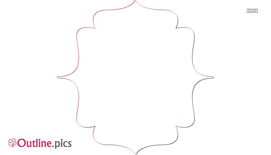 Bracket Border Outline Free Vector Art
