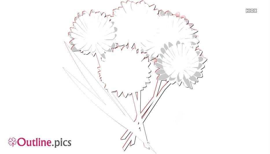 Floral Arrangement Outline Images