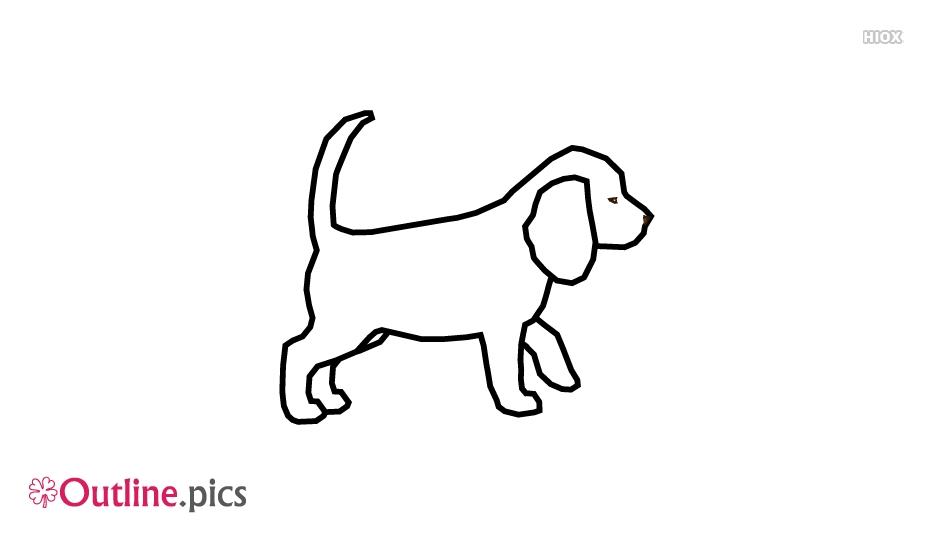 Dog Outline Images