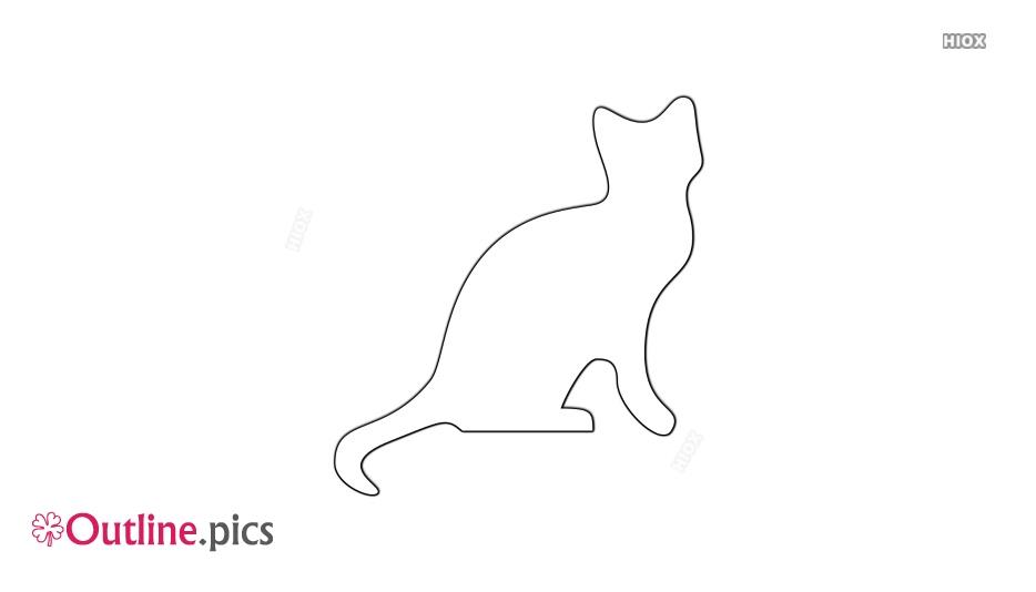 Cat Outline Shape