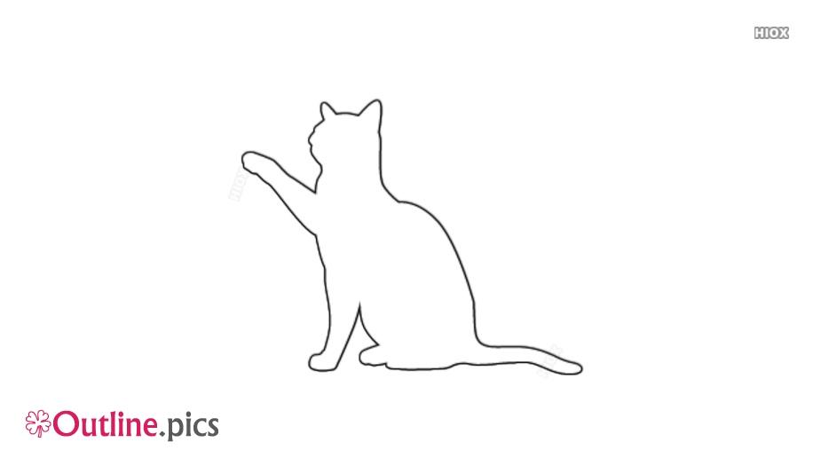 Cat Outline Svg