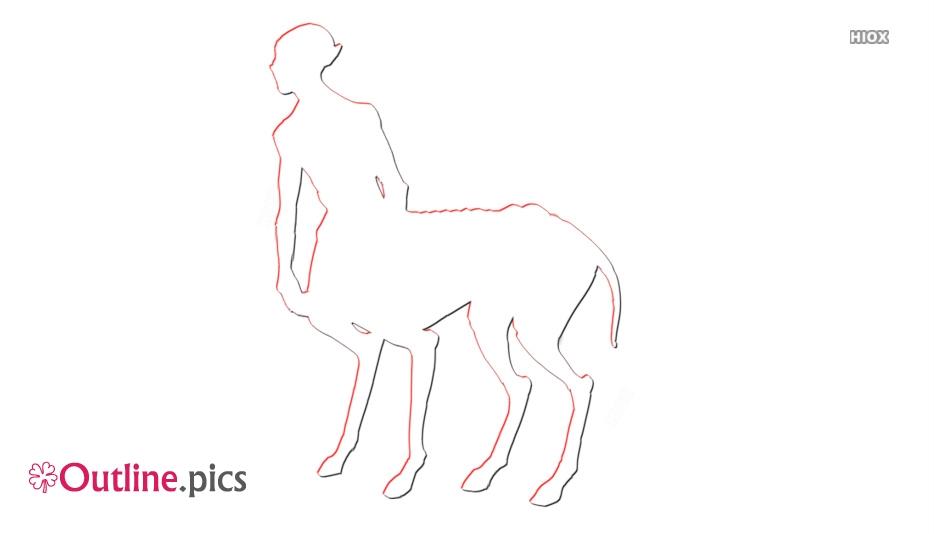 Centaur Oddity Thestraltaur Outline