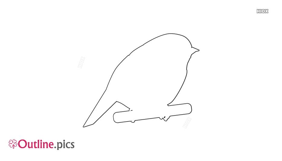 Chickadee Outline