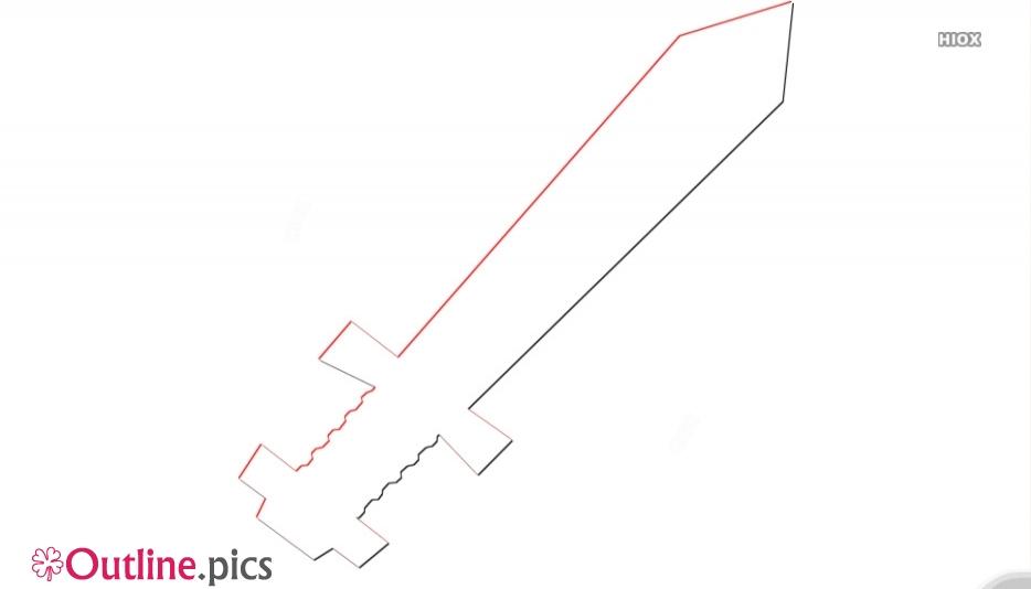 Clip Art Sword Outline