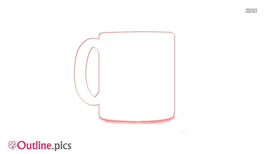 Coffee Mug Outline Image And Vector