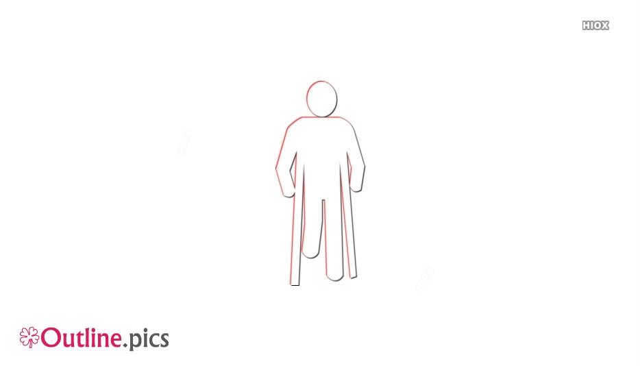 Crutches Outline