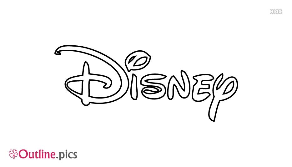 Disney Outline Tattoo Design