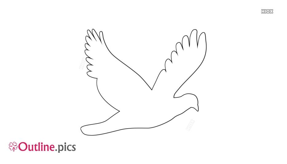 Dove Outline Images, Pics