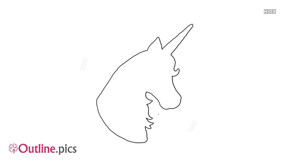 Drawing Of Unicorn Head