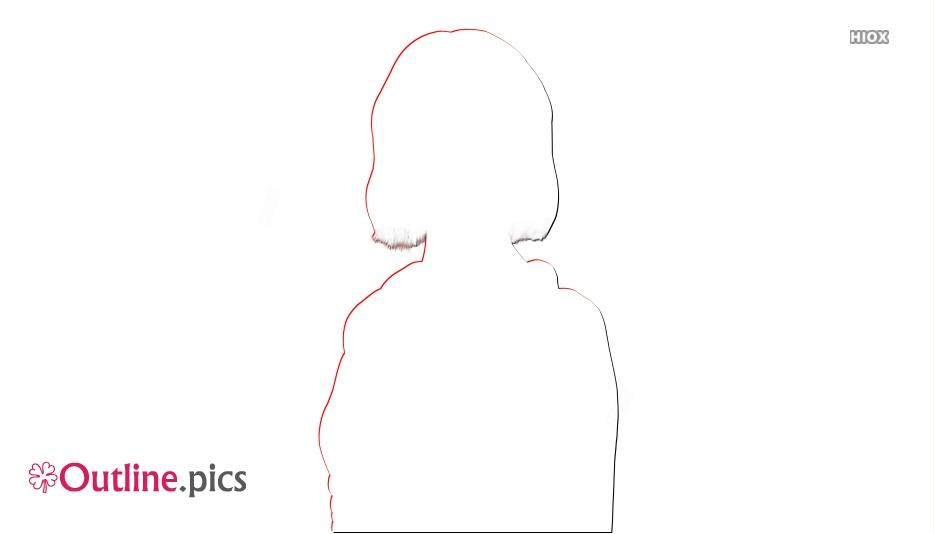 Emma Stone Outline Illustration