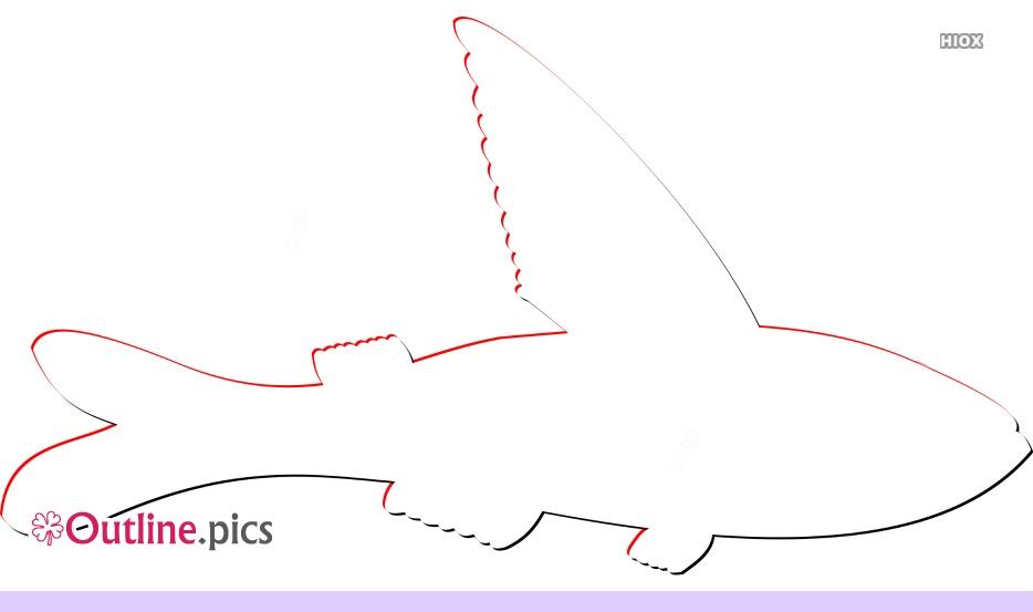 Fins Clipart Outline