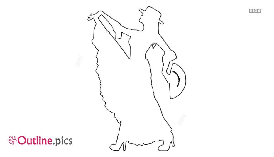 Flamenco Dance Outline