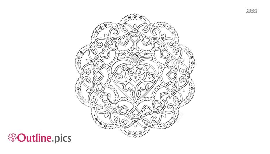 Flower Pattern Outline