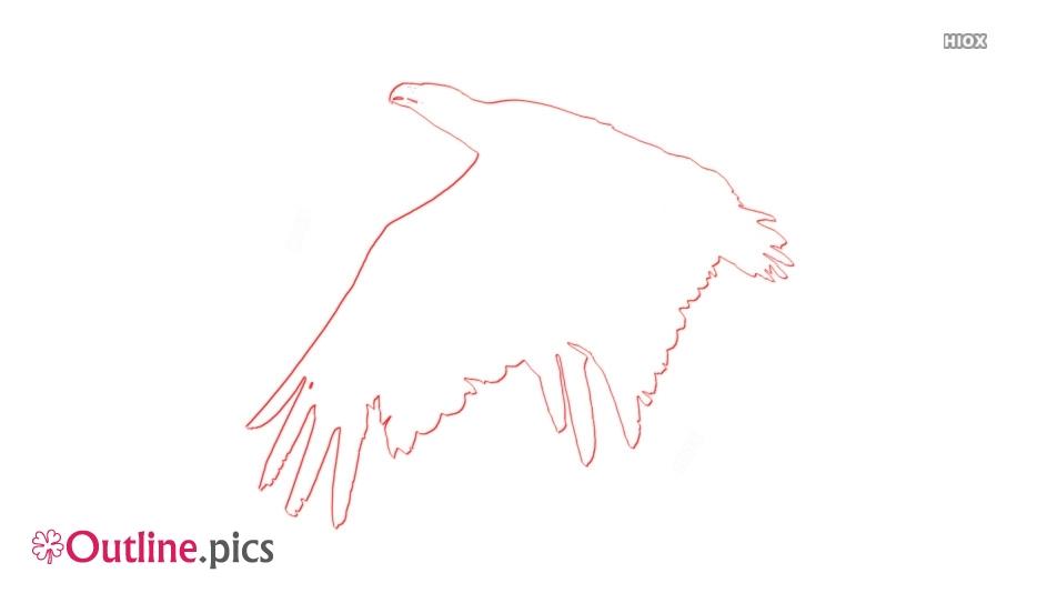 Flying Bird Outline Clip Art