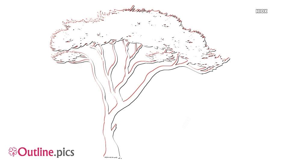 Free Tree Outline