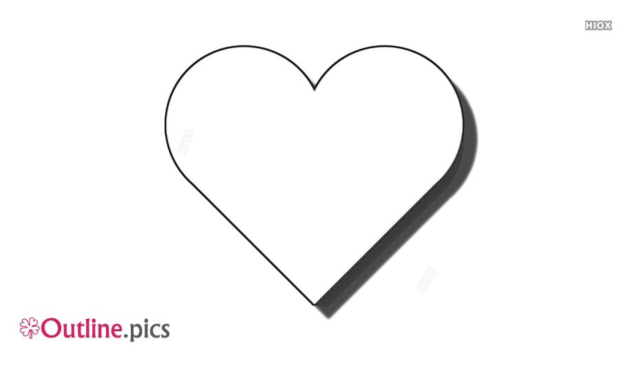 Heart Outline Symbol
