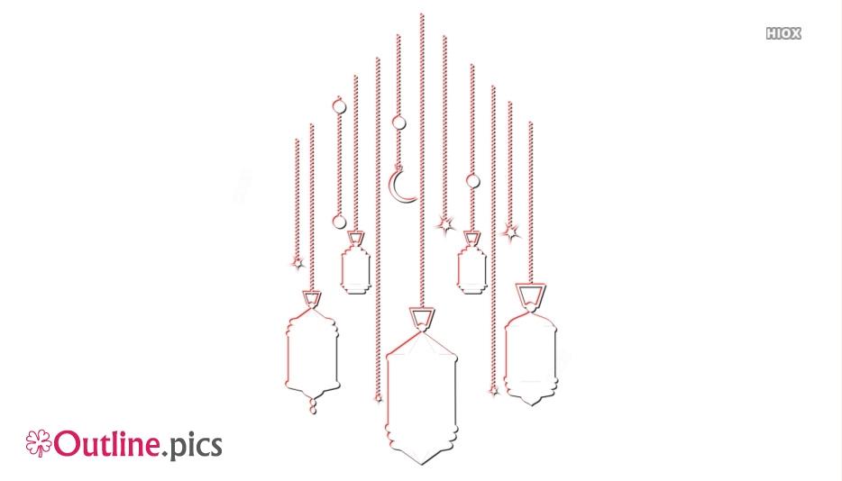 Lantern Lamp Outline Images