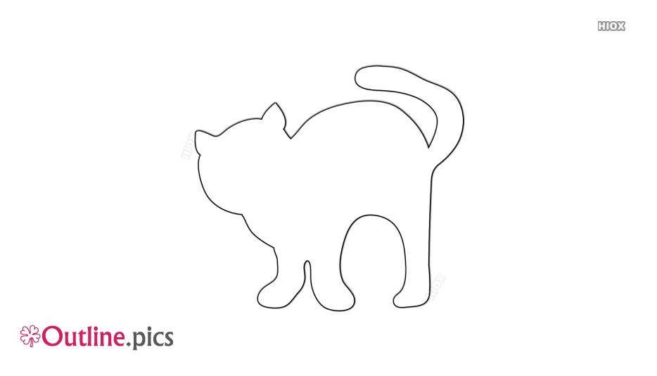 Kitty Cat Outline