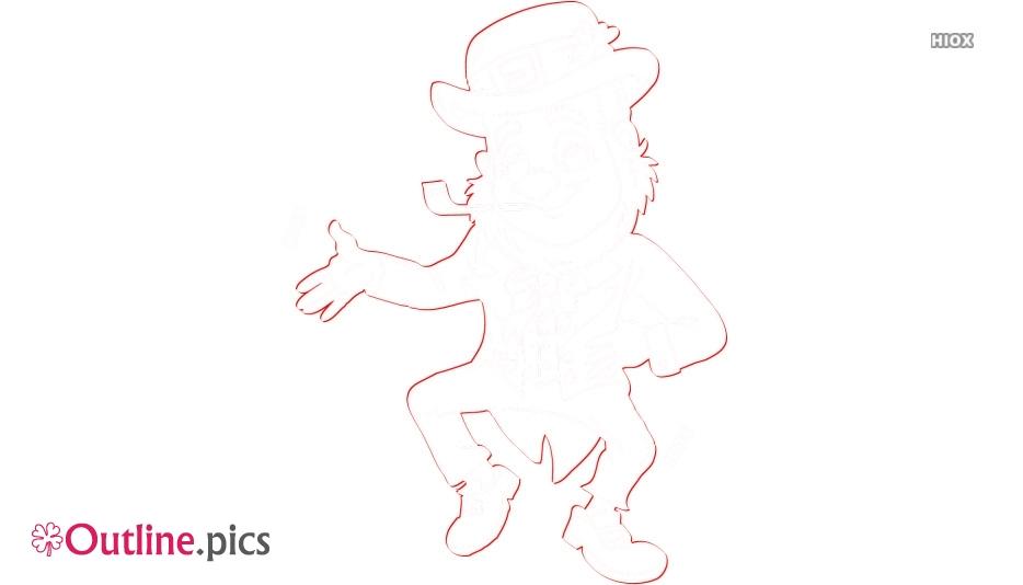 Leprechaun Fairy Outline Images