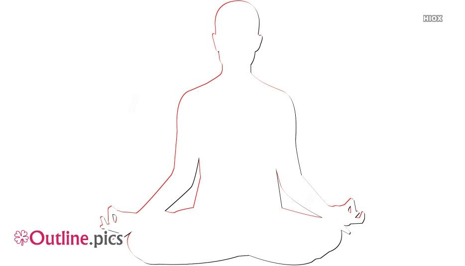 Yoga Asanas Outline Images