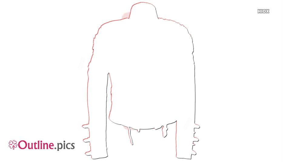 Michel Jackson Jacket Outline