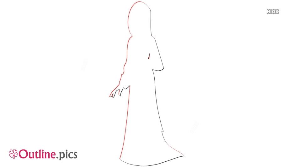 Mulan Clip Art Outline Vector