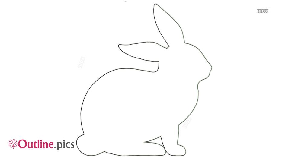 Outline Of Rabbit