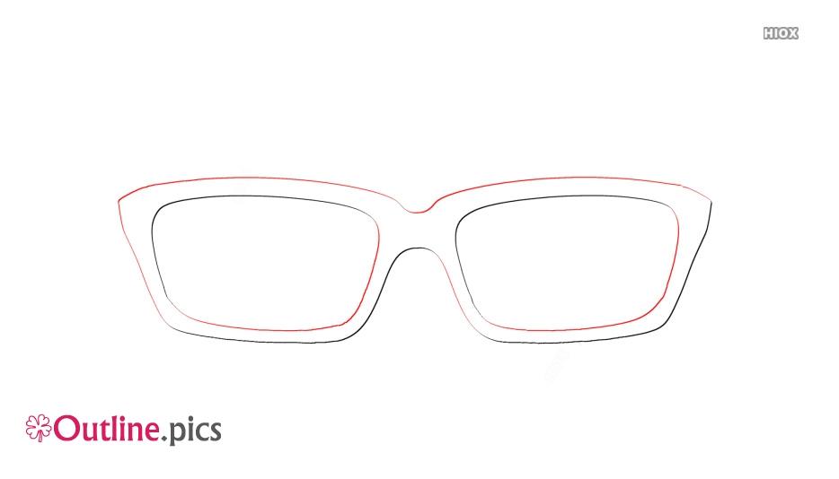 Retro Eyeglasses Outline Images
