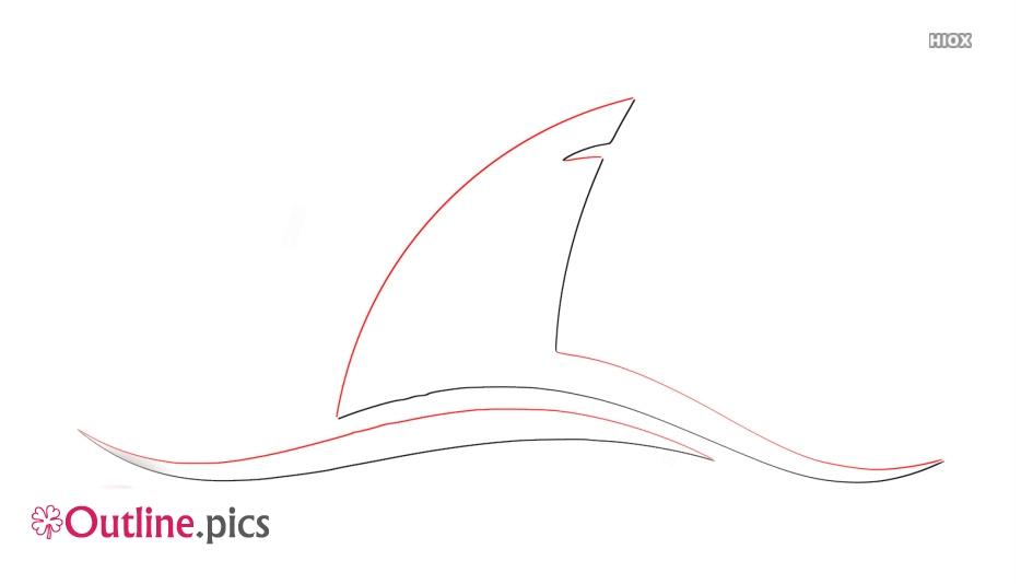 Shark Fin Outline Images