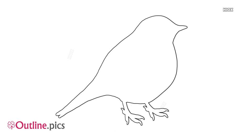 Small Bird Outline