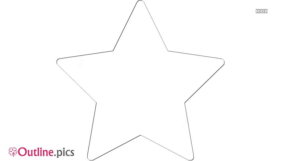 Star Drawing Outline Design