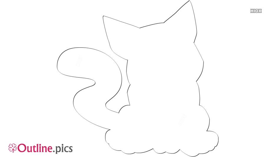 Super Mario Cat Outline Free Vector Art