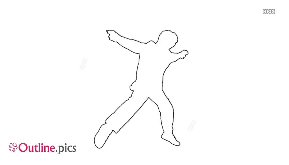 Tap Dancer Outline