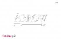 Arrow Logo Outline