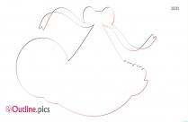 Knee Clip Art Outline