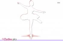 Ballet Dancer Images Outline Free Download
