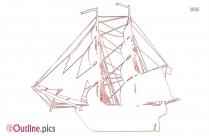 Bilander Ship Outline Image