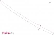 Swords Outline Design