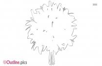 Flower Plant Outline Pic