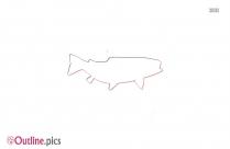 Bluegill Fish Outline