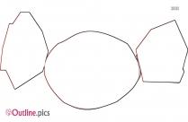 Gun Outline Drawing