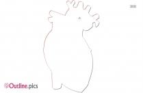 Heart Outline Background