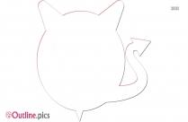 Cartoon Devil Outline Drawing
